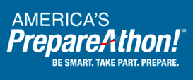 logo of America's PrepareAthon! Be smart. Take part. Prepare