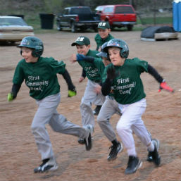 Youth Baseball Teams Knock Lightning Prep Out of the Park