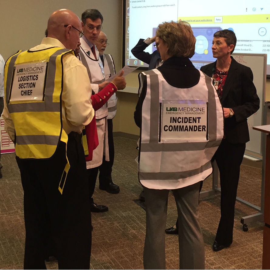 UAB Medicine Conducts Full Scale Tornado Safety Drill